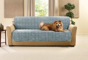 SureFit Deluxe Comfort Armless Sofa Furniture Cover