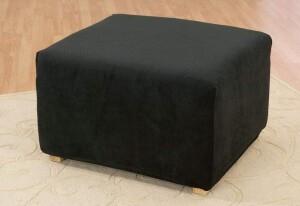 SureFit Oversized Stretch Pique Ottoman Slipcover