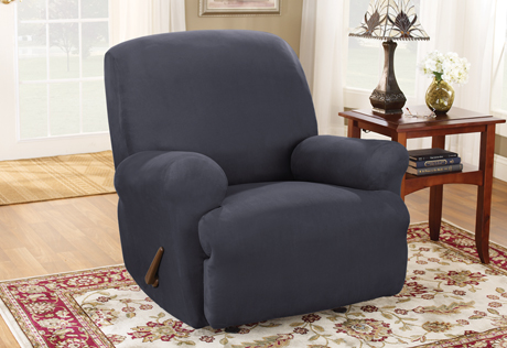sure fit recliner cover Recliner Slipcovers | Wing Chair Recliner Slipcovers | Covers for  sure fit recliner cover