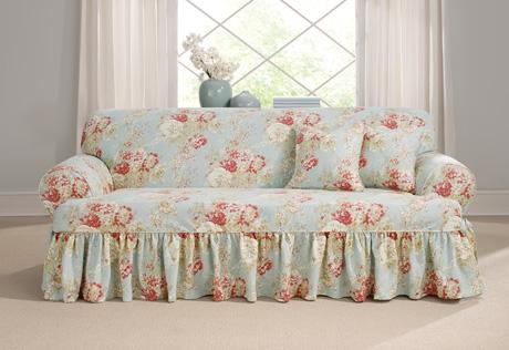 t cushion sofa slipcover T Cushion Slipcovers | T Cushion Sofa Covers t cushion sofa slipcover